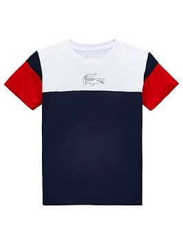 lacoste-sports-boys-short-sleeve-colourblock-t-shirt-whitenavy