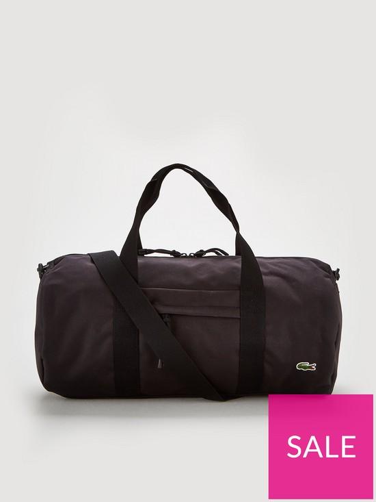 a8f979c026 Lacoste Sportswear Barrel Bag - Black | very.co.uk