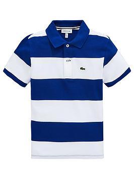 lacoste-boys-short-sleeve-stripe-pique-polo-shirt-bluewhite