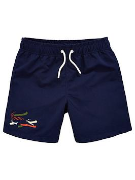 lacoste-boys-crocodile-swim-shorts-navy