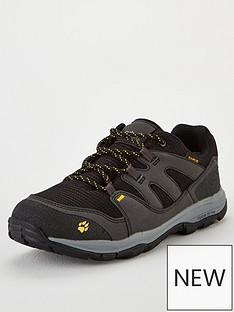purchase cheap 06700 e2d12 Jack Wolfskin MTN Attack 3 Texapore Low K Shoes - Black Grey Yellow