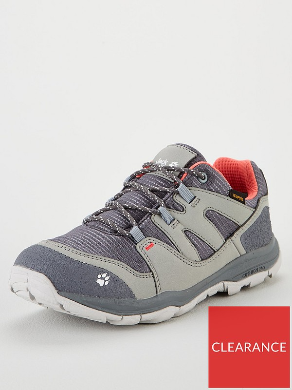 MTN Attack 3 Texapore Low K Shoe GreyPink