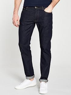 lacoste-sportswear-5-pocket-jeans-dark-wash