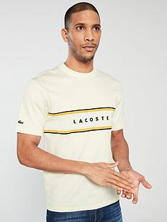 bb38f3a55 Lacoste Sportswear Chest Panel T-shirt