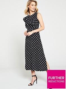 v-by-very-sleeveless-asymmetric-frill-jersey-dress-print