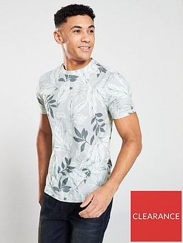 v-by-very-all-over-floral-print-t-shirt-sage