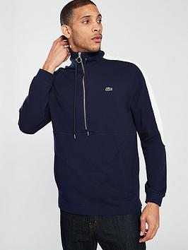 lacoste-sportswear-half-zip-sweat-navy