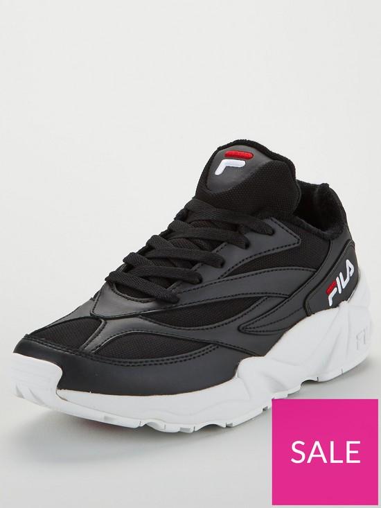 5bda02c9c Fila Venom Low - Black/White | very.co.uk