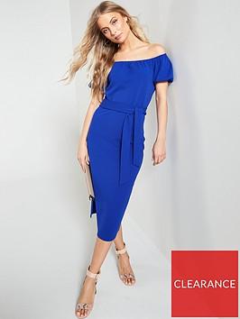 v-by-very-bardot-jersey-crepe-midi-dress