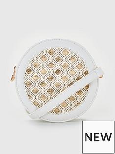 v-by-very-piza-round-crossbody-bag-with-raffia-insert