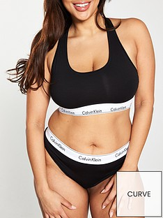 Calvin Klein Calvin Klein Modern Cotton Plus Unlined Bralette 4d0835ba8f2