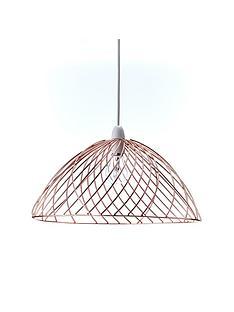 metal-weaves-easy-fit-ceiling-pendant-lightshade