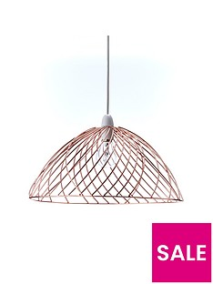 metal-weaves-easy-fit-ceiling-pendant-lightshade