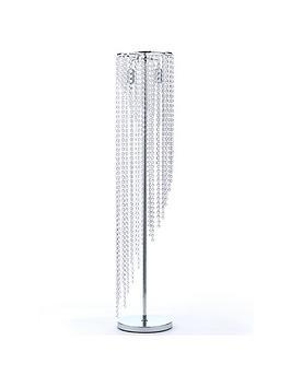 crystal-waterfall-floor-lamp