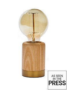 forest-table-lamp-with-vintage-bulb