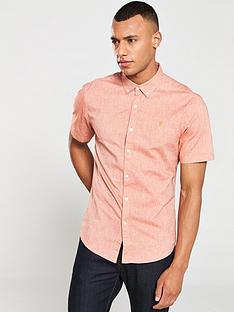 farah-steennbspshort-sleeved-shirt-goldfishnbsporange