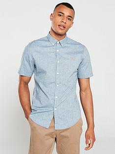 farah-steennbspshort-sleeved-shirt-stellar-blue