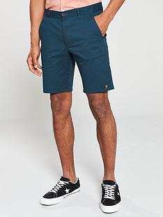 farah-hawk-chino-shorts-blue