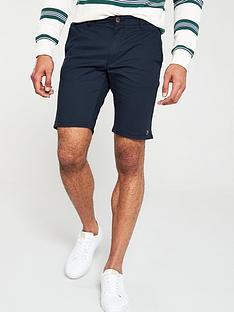 farah-hawk-chino-shorts-navy