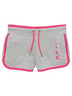 dkny-girls-logo-jersey-shorts-grey