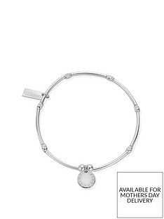 chlobo-sterling-silver-mini-noodle-sparkle-rice-friendship-disc-bracelet