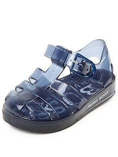 boss-toddler-jelly-sandals-navy