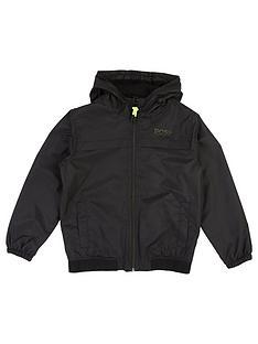 boss-boys-contrast-zip-logo-windbreaker-jacket-black
