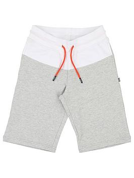 boss-boys-colourblock-jersey-shorts-light-grey