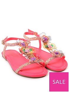 billieblush-girls-glitter-flower-sandal