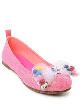 billieblush-girls-glitter-mesh-bow-ballerina-shoe