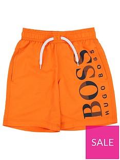 boss-boys-classic-logo-swim-shorts--nbspbright-red