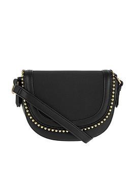 accessorize-studded-saddle-bag-blacknbsp
