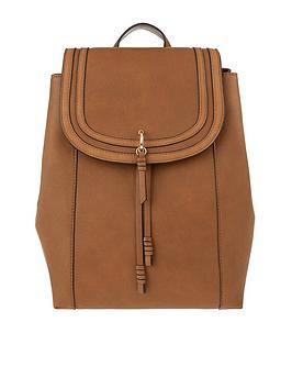 accessorize-ellie-faux-leather-backpack-tan