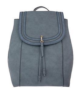 accessorize-ellie-faux-leathernbspbackpack-bluenbsp