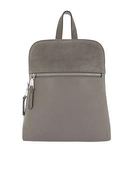 accessorize-parker-mini-dome-leather-backpack-greynbsp