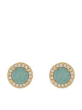 accessorize-halo-swarovskireg-crystal-stud-earrings-green