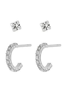 accessorize-accessorize-sterling-silver-sparkle-hoop-stud-set