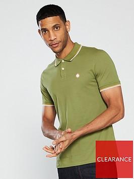 pretty-green-tipped-pique-polo-shirt