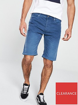 replay-tapered-blue-bull-denim-shorts