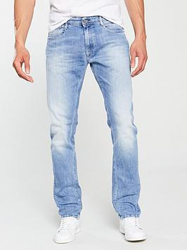 replay-rob-relaxed-tapered-fit-jeans-light-blue