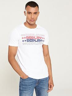 replay-graphic-logo-t-shirt-white