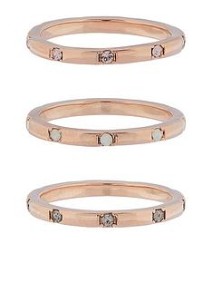 accessorize-z-range-3x-hammered-swarovskireg-rings-rose-gold