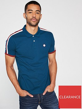 pretty-green-contrast-panel-polo-shirt-blue
