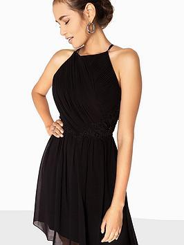 Little Mistress AppliquÉ Prom Dress - Black