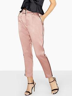little-mistress-satin-tailored-co-ord-trouser-copper