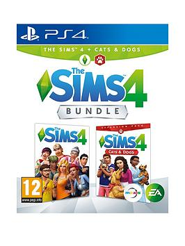 playstation-4-sims-4-plus-cats-and-dogs-bundle-ps4