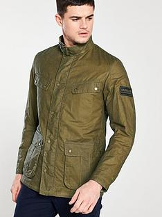 barbour-international-lightweight-duke-wax-jacket-sand