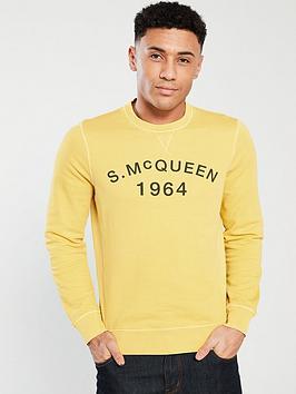 barbour-international-steve-mcqueen-vintage-crew-sweat-yellow