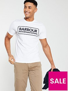 barbour-international-essential-large-logo-tee-white