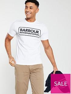 barbour-international-essential-large-logo-tee-white